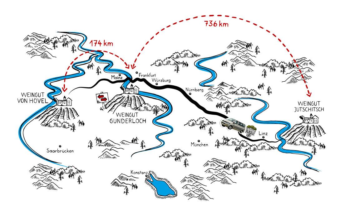 Wurzelwerk-Karte